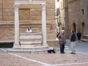 Italy Oct 2010, Pienza, home of Pecorino cheese